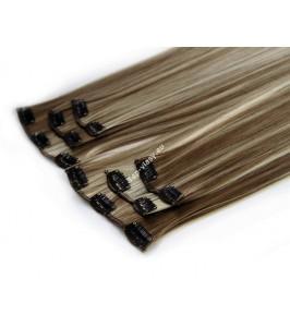 Melírované 4-613 luxusní syntetické vlasy