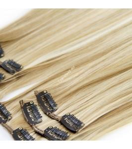 Multiblond luxusní syntetické vlasy