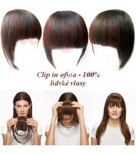 Clip in Ofina 100% lidské vlasy