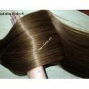 Extra hustý culík/ cop /120g/ - Luxusní příčesek 100% lidské vlasy Remy/ 60cm