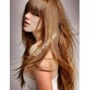 Vlasové prameny s keratinem 50cm / 100% lidské vlasy Remy A+ /