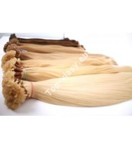 Ruské vlasy s keratinem 40cm