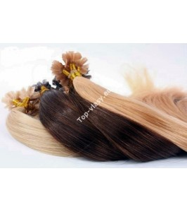 Ruské vlasy s keratinem 55 cm