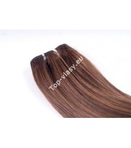Ruské vlasové tresy 55 cm
