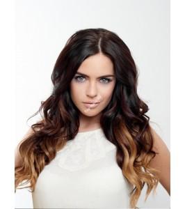 Clip In Ombré - 100% lidské vlasy - 48/50 cm / 120 - 130 gram!