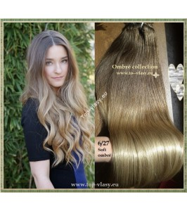 Clip In Ombré Maxi - 100% lidské vlasy - 65 cm / 210 gram!