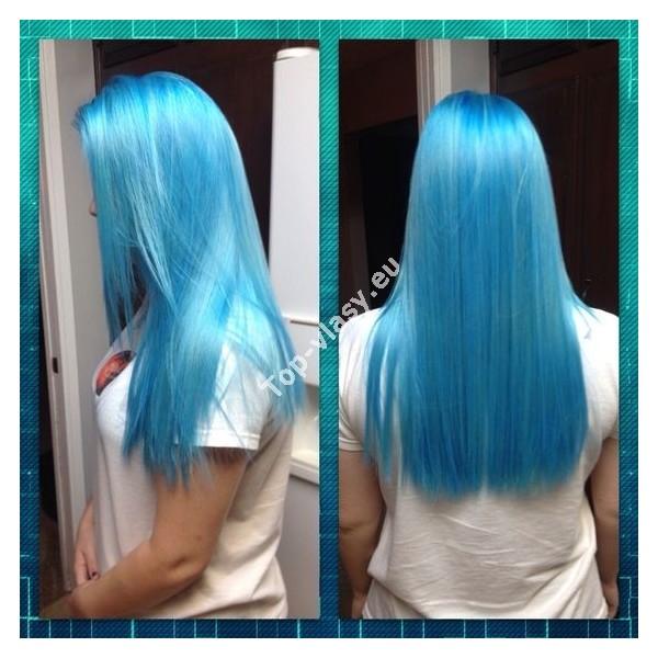 Tyrkysov 233 Světle Modr 233 Clip In Vlasy 90 130 Gram
