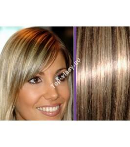 Clip in vlasy melírované 4/613 -  DeLuxe sady