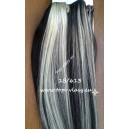Clip in vlasy - Melírované 1B/613 DeLuxe XXL sady