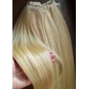 Zlatý mix blond 22/613 Clip in Maxi Dvojité  2in1 vlasy