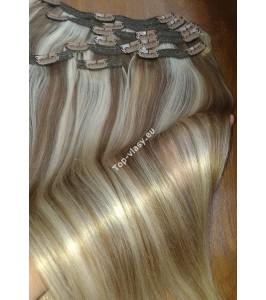 Clip In Melírované 14/22 Maxi Dvojité 2in1 vlasy