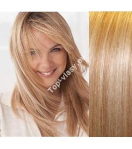 Clip in vlasy  27/613 - Deluxe sady