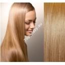Jahodové blond clip in DeLuxe vlasy