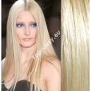 Světle blond 613 clip in DeLuxe vlasy