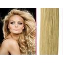 Světle blond šampaň clip in DeLuxe vlasy
