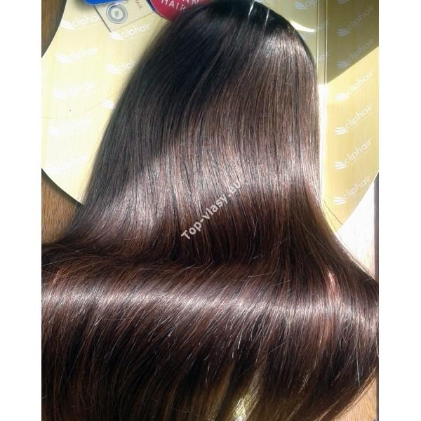 Clip in vlasy - Středně hnědé DeLuxe XXL sady - Topvlasy - Luxusní ... 69a4f18458e