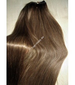 Clip in Světle hnědé Maxi Dvojité 2in1 vlasy